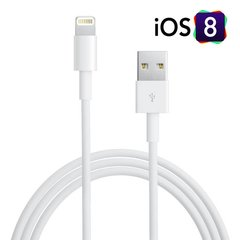 "GT ""Lightning"" - USB laidas skirtas iPhone 5, 5S, SE, 6, iPad 4 mini"