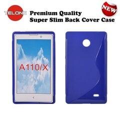 Apsauginis dėklas Telone skirtas Nokia X/Dual Sim, Mėlynas kaina ir informacija | Telefono dėklai | pigu.lt