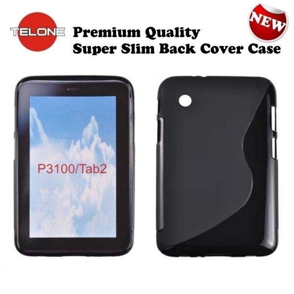 Apsauginis dėklas Telone skirtas Samsung Galaxy Tab 2 7.0 (P3100), Juodas kaina ir informacija | Planšečių, el. skaitytuvų dėklai | pigu.lt