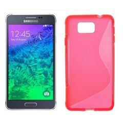 Apsauginis dėklas Telone skirtas Samsung Galaxy Alpha (G850), Rožinė kaina ir informacija | Telefono dėklai | pigu.lt