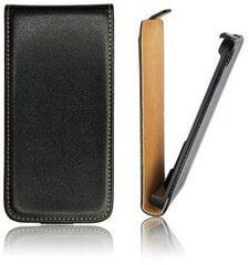 Atverčiamas dėklas Forcell Slim Flip skirtas Samsung Galaxy Grand 2 (G7106), Juodas