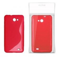 Apsauginis dėklas KLT S-Line skirtas Nokia 308 Asha, Raudonas kaina ir informacija | Telefono dėklai | pigu.lt