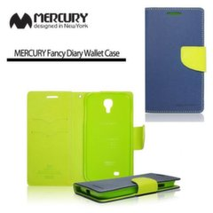 Mercury Fancy Diary Book Case for Apple iPhone 6 4.7inch Blue/Light Green