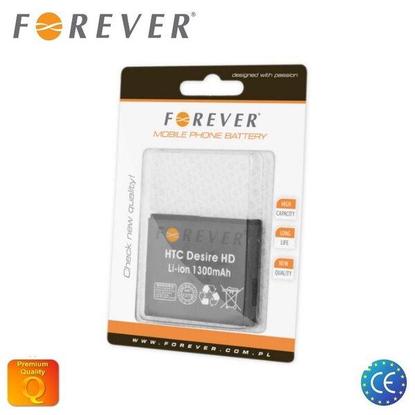 Forever skirtas HTC Desire HD Li-Ion 1300 mAh BAS470 kaina ir informacija | Akumuliatoriai telefonams | pigu.lt