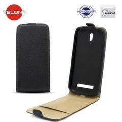 Telone Shine Pocket Slim Flip Case Samsung N7500 Galaxy Note 3 Neo vertical book case Black