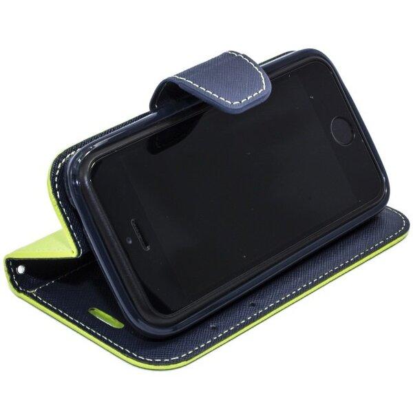 Apsauginis dėklas Telone Fancy Diary Bookstand skirtas Samsung Galaxy S3/S3 Neo (i9300/i9301), Šviesiai žalia/Mėlyna kaina ir informacija | Telefono dėklai | pigu.lt