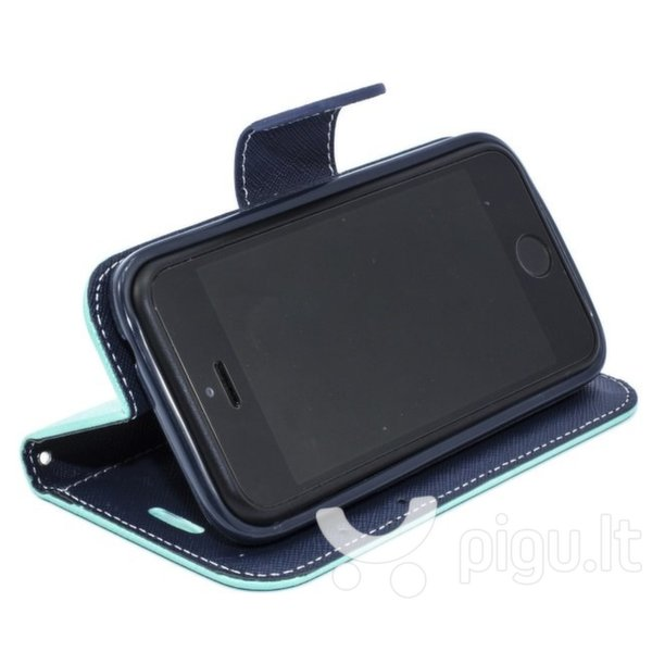 Atverčiamas dėklas Telone Fancy Diary Bookstand skirtas Samsung Galaxy S4 (i9500), Šviesiai mėlyna kaina ir informacija | Telefono dėklai | pigu.lt