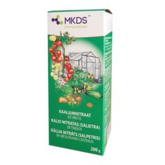 MKDS Kalio nitratas, 200 g kaina ir informacija | Birios trąšos | pigu.lt
