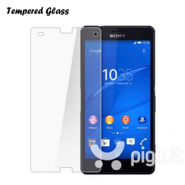 Apsauginis stiklas Tempered Glass skirtas Sony Xperia Z2 Compact kaina ir informacija | Apsauginės plėvelės telefonams | pigu.lt