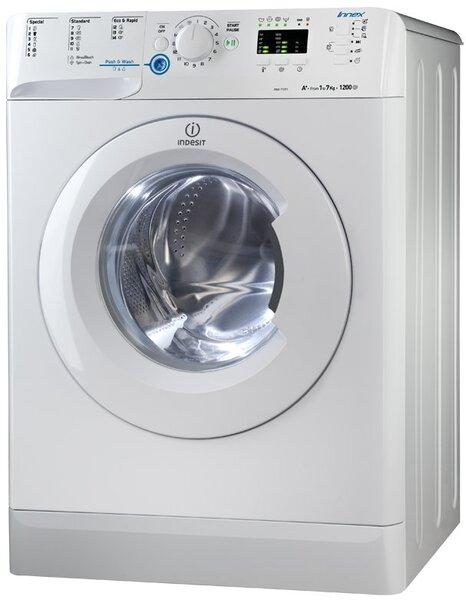 Indesit XWA 71251 WWG EU kaina ir informacija | Skalbimo mašinos | pigu.lt