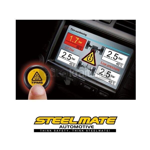 Padangų slėgio matavimo įranga Steel Mate TP-05 BI kaina ir informacija | Auto reikmenys | pigu.lt