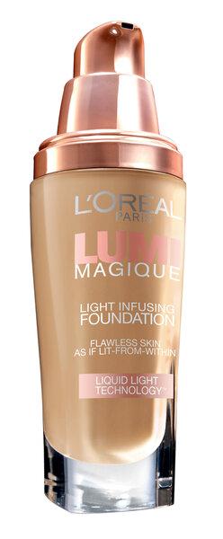 Makiažo pagrindas L'Oreal Paris Lumi Magique Light Infusing 30 ml kaina ir informacija | Pudros, bronzantai, skaistalai | pigu.lt