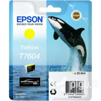 Epson T7604 Yellow ink 26ml