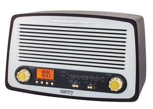 Retro radijo imtuvas Camry 1126, USB, MP3, žadintuvas kaina ir informacija | Radijo imtuvai ir žadintuvai | pigu.lt
