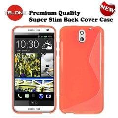 Apsauginis dėklas Telone skirtas HTC Desire 610, Oranžinės kaina ir informacija | Telefono dėklai | pigu.lt