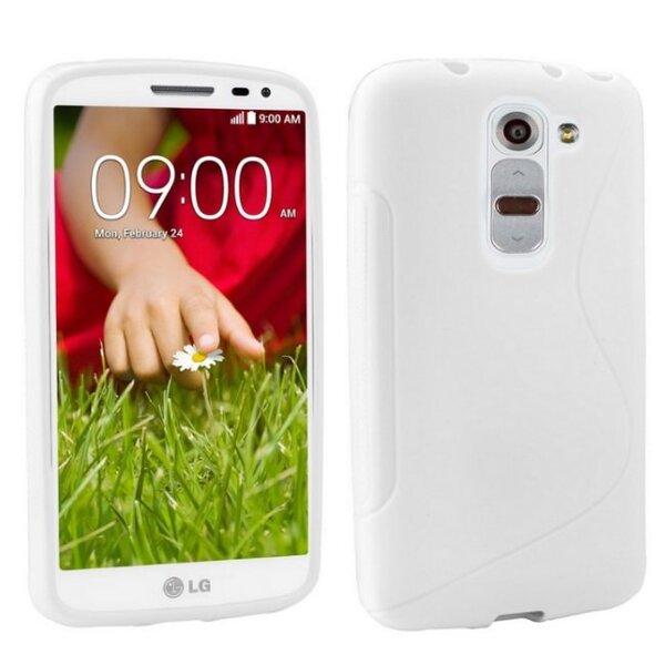 Apsauginis dėklas Telone skirtas LG G2 mini (D620), Balta kaina ir informacija | Telefono dėklai | pigu.lt