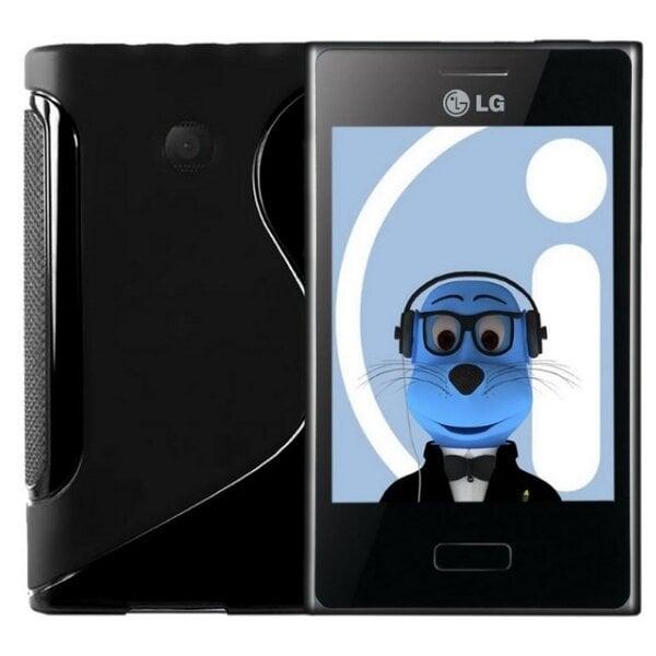 Apsauginis dėklas Telone skirtas LG L50 (D213), Juoda kaina ir informacija | Telefono dėklai | pigu.lt