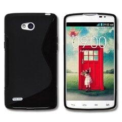 Apsauginis dėklas Telone skirtas LG L80 (D373), Juoda kaina ir informacija | Telefono dėklai | pigu.lt