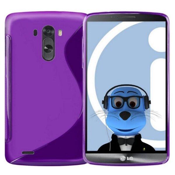 Apsauginis dėklas Telone skirtas LG G3 (D855), Violetinė kaina ir informacija | Telefono dėklai | pigu.lt