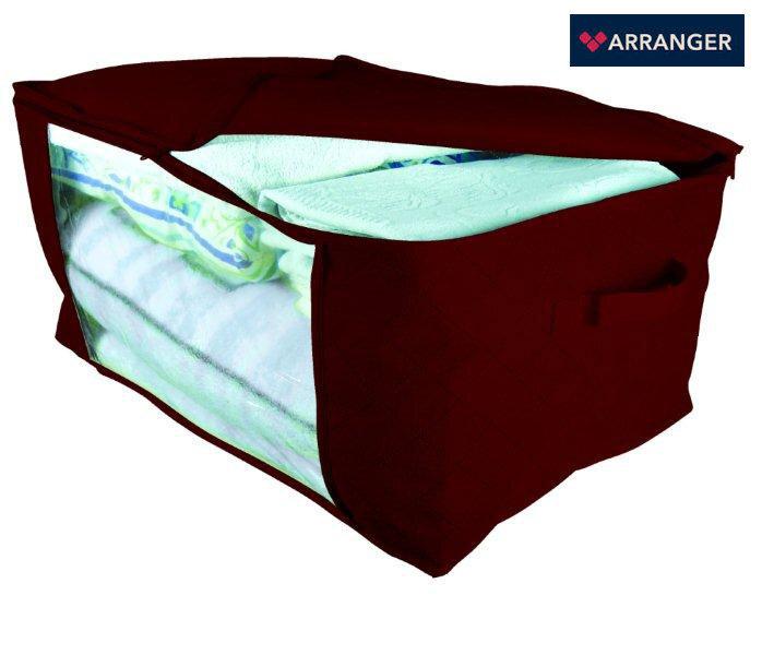 Daiktų krepšys Comfort Red, 60x40x30 cm kaina ir informacija | Dаiktų krepšiai | pigu.lt