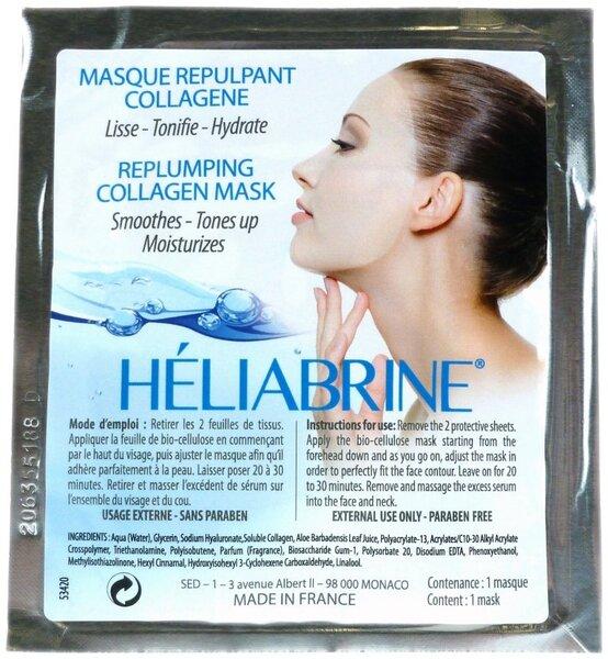 Stangrinanti kolageno kaukė Heliabrine 8 ml kaina ir informacija | Veido kaukės, serumai | pigu.lt