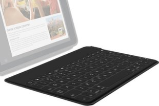 Logitech Keys-To-Go Ultra-portable, stand-alone Black Keyboard