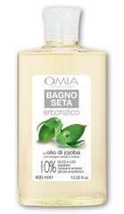 Natūrali dušo želė su jojoba aliejumi Omia 400 ml kaina ir informacija | Dušo želė, muilas | pigu.lt