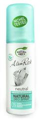 Natūralus purškiamas dezodorantas Natura Amica Alum Rock, neutralus 100 ml kaina ir informacija | Dezodorantai | pigu.lt
