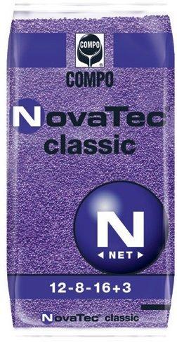 Compo Nova Tec classic NPK 12+08-16+3MgO+10S + mikroelementai) kaina ir informacija | Birios trąšos | pigu.lt