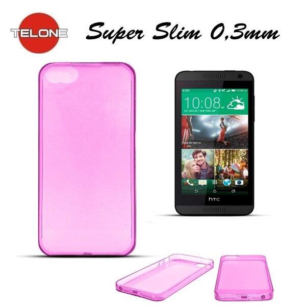 Apsauginis dėklas Telone skirtas HTC Desire 816, Rožinė kaina ir informacija | Telefono dėklai | pigu.lt