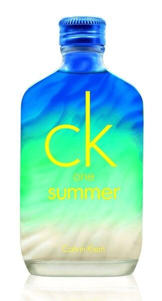 Tualetinis vanduo Calvin Klein CK One Summer 2015 EDT moterims/vyrams 100 ml kaina ir informacija | Kvepalai moterims | pigu.lt