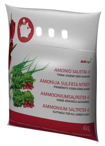 Baltic Agro Amonio sulfo salietra, 4 kg kaina ir informacija | Birios trąšos | pigu.lt