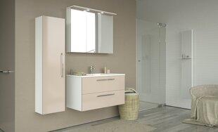 Vonios baldų komplektas Allegro 90, baltas/kreminis kaina ir informacija | Vonios baldai | pigu.lt