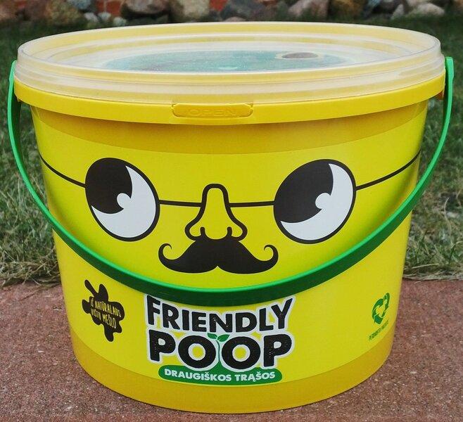 Granuliuotos paukščių mėšlo trąšos Friendly Poop kaina ir informacija | Birios trąšos | pigu.lt