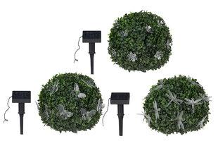 Sodo LED girlianda su saulės baterija kaina ir informacija | Lauko šviestuvai | pigu.lt