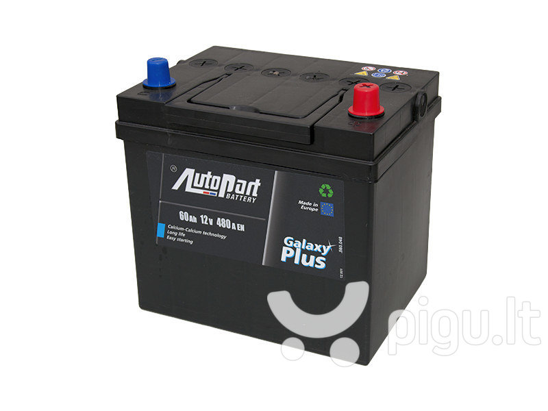 Akumuliatorius 60AH 480A Japan Autopart kaina ir informacija | Akumuliatoriai | pigu.lt