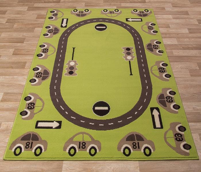 Vaikiškas kilimas Luna Kids Lime kaina ir informacija | Kilimai | pigu.lt