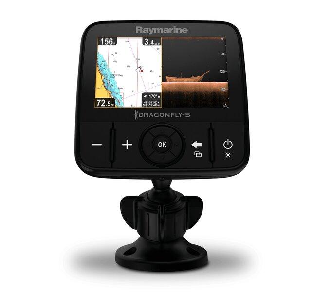 Echolotas Raymarine Dragonfly 5 PRO GPS/DownVision E70293 atsiliepimas