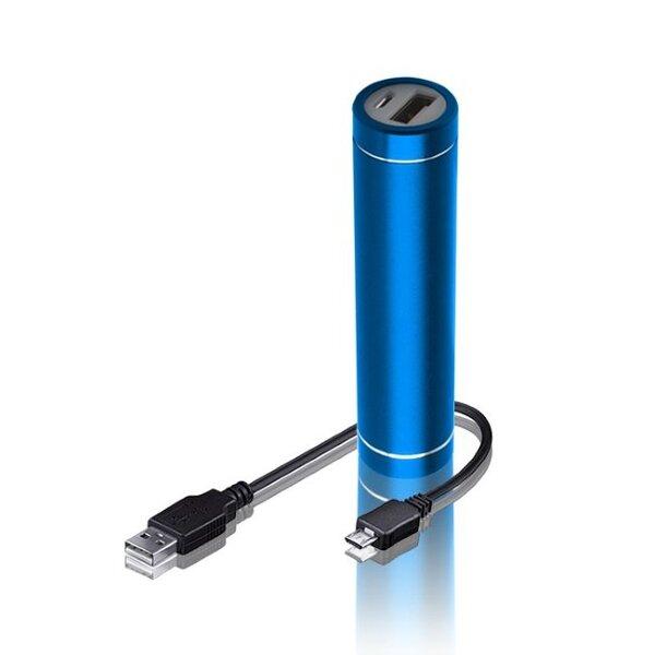 Forever PB010 Power Bank 2300mAh, Mėlyna kaina ir informacija | Atsarginiai maitinimo šaltiniai | pigu.lt