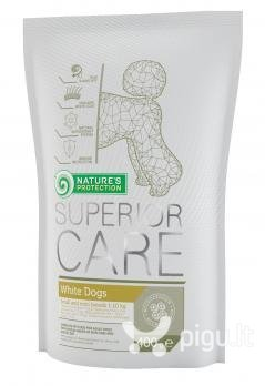 Nature's Protection Superior Care White Dogs Small And Mini Breeds 400 g kaina ir informacija | Sausas maistas šunims | pigu.lt