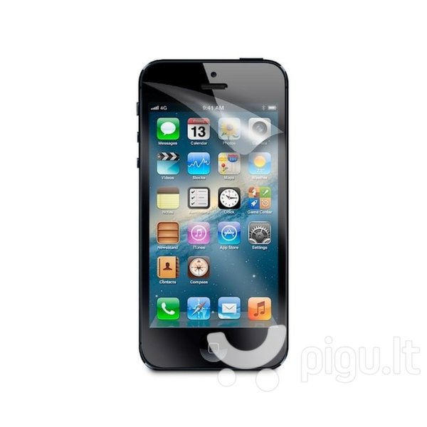 Apsauginė plėvelė ExLine skirta Apple iPhone 5/5S/SE kaina ir informacija | Apsauginės plėvelės telefonams | pigu.lt