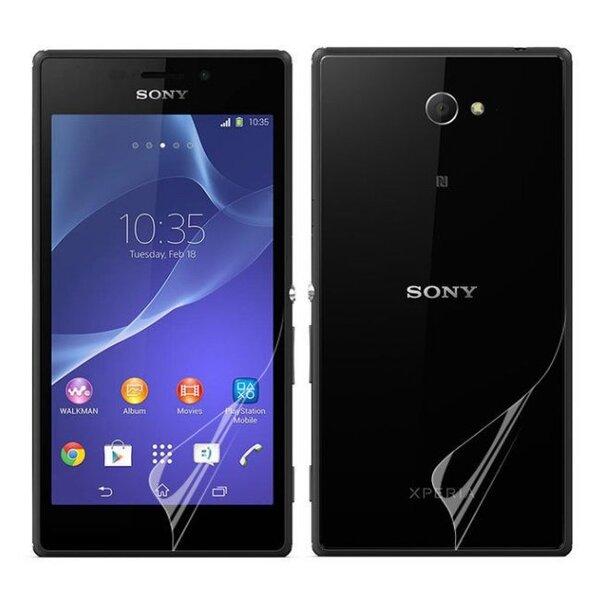 Apsauginė plėvelė ExLine skirta Sony Xperia M2 (Priekis + Galas) kaina ir informacija | Apsauginės plėvelės telefonams | pigu.lt