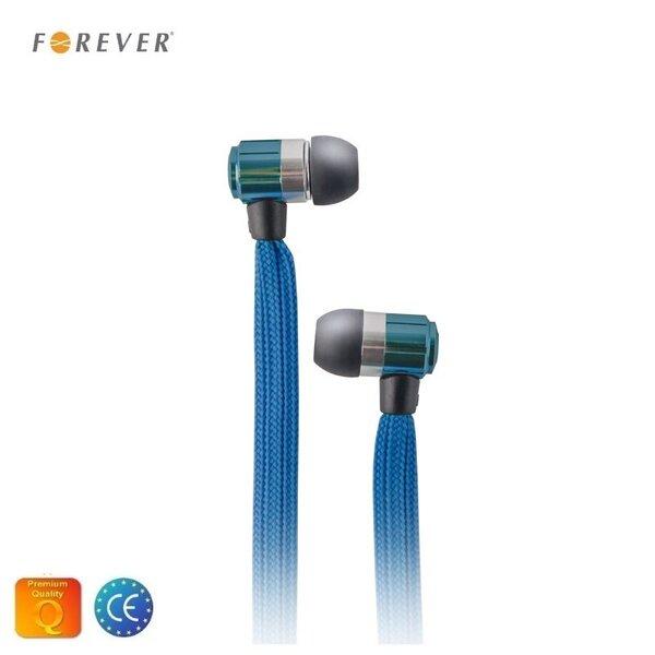 Forever Swing Sport & Fitness 3.5mm, Mėlyna kaina ir informacija | Laisvų rankų įranga ir ausinės | pigu.lt