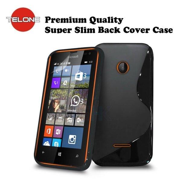 Apsauginis dėklas Telone skirtas Microsoft Lumia 532, Juoda kaina ir informacija | Telefono dėklai | pigu.lt