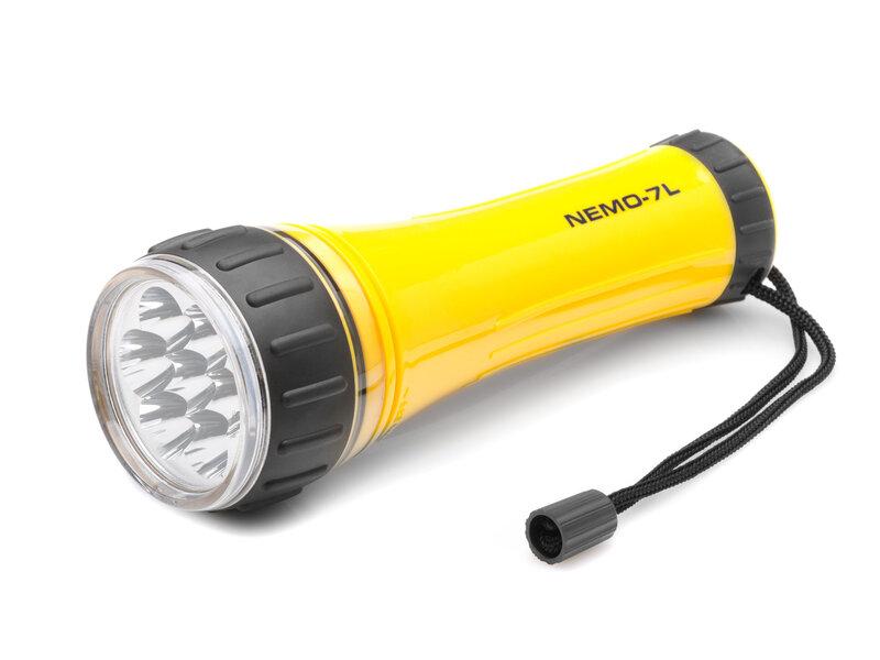Falcon Eye NEMO-7L vandeniui atsparus LED žibintuvėlis kaina ir informacija | Žibintuvėliai, prožektoriai | pigu.lt