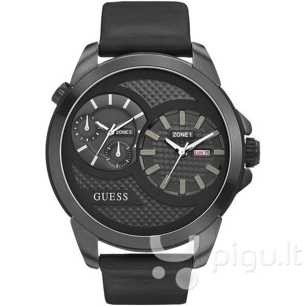 Vyriškas laikrodis Guess W0184G1 kaina ir informacija | Vyriški laikrodžiai | pigu.lt