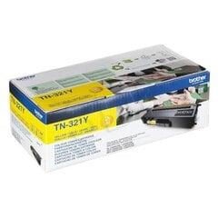 Brother - Toner TN321Y 1500 str. do HL/MFC-L8x50/DCP-L84x0 kaina ir informacija | Kasetės lazeriniams spausdintuvams | pigu.lt