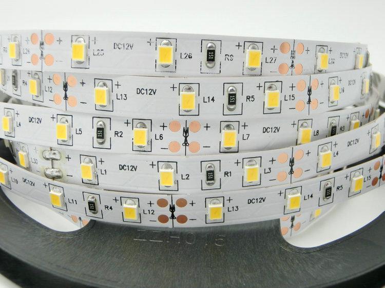11W/m LED juosta, 2835, 60 LED/m, 1440lm/m, (6000K) šaltai balta kaina ir informacija | LED juostos | pigu.lt