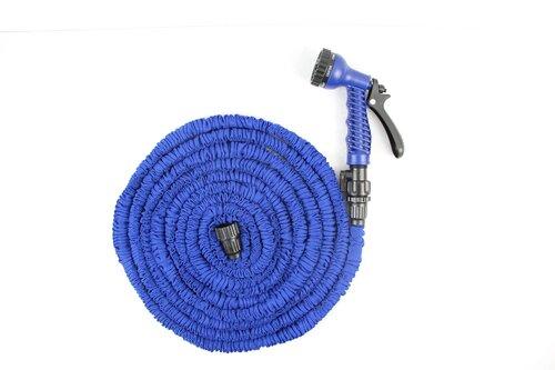 Išsitempianti laistymo žarna su purkštuvu 30 m, mėlyna kaina ir informacija | Namai | pigu.lt
