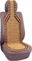 Sėdynės užtiesalas su mediniais rutuliukais kaina ir informacija | Sėdynių užtiesalai, priedai | pigu.lt